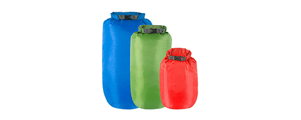 DriStore Roll Top Dry Bags - 5, 10, 15L Multipack