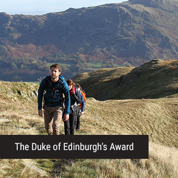 The Duke of Edinburgh's Award Banner