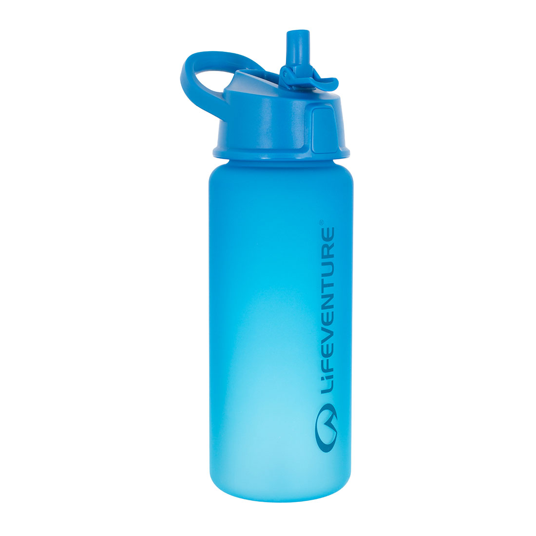 Flip-top Water Bottle (blue)