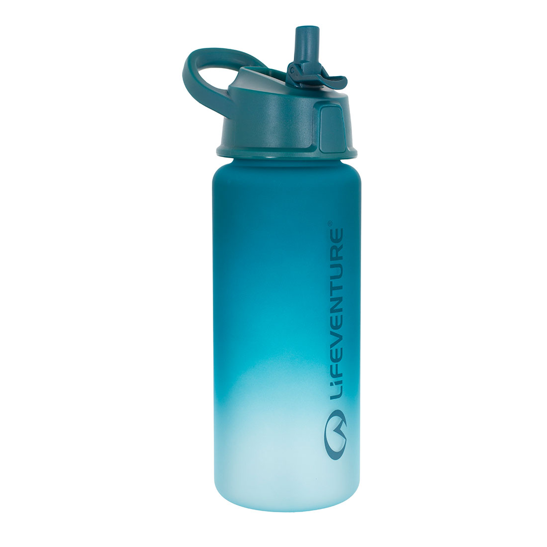 Flip-top Water Bottle (teal)