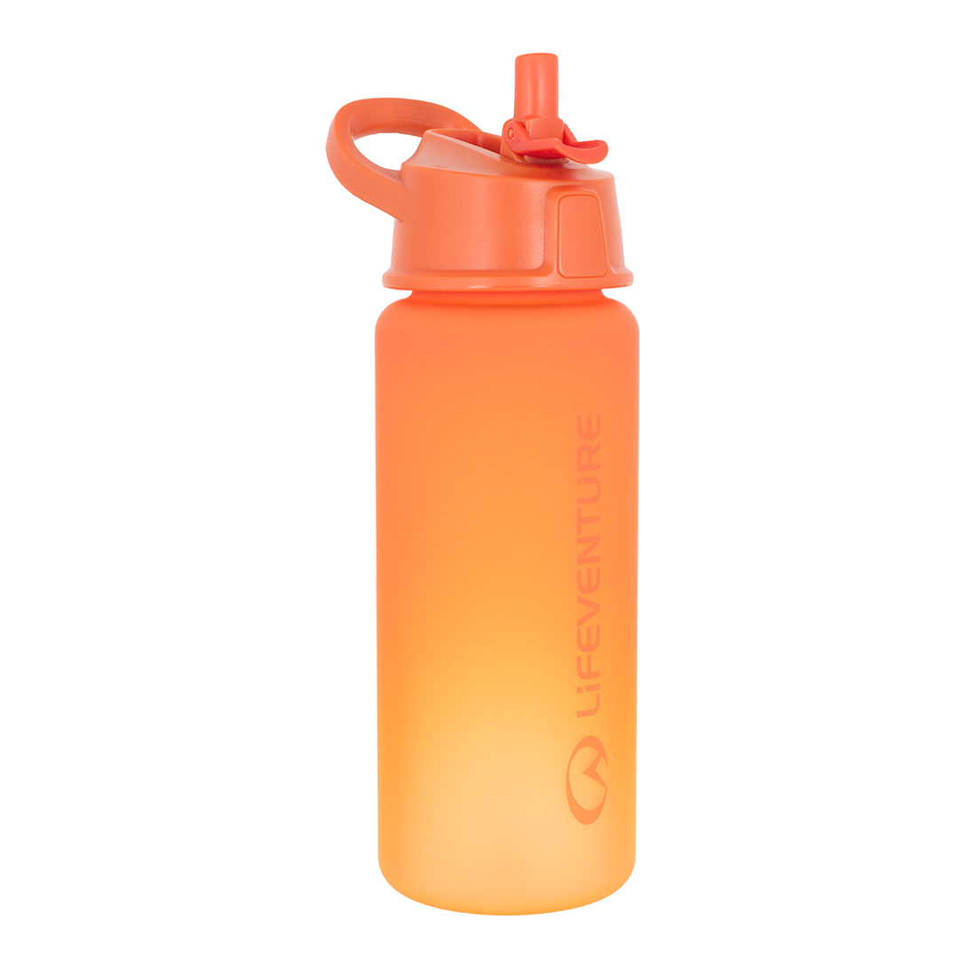 Flip-top Water Bottle (orange)