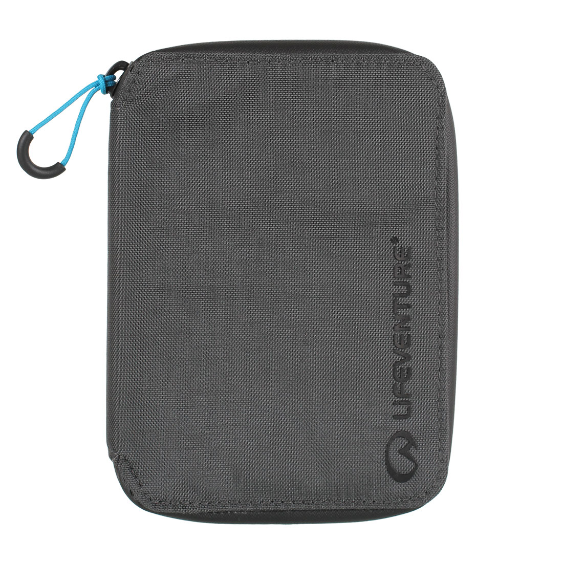 Rfid Travel Neck Pouch (grey)