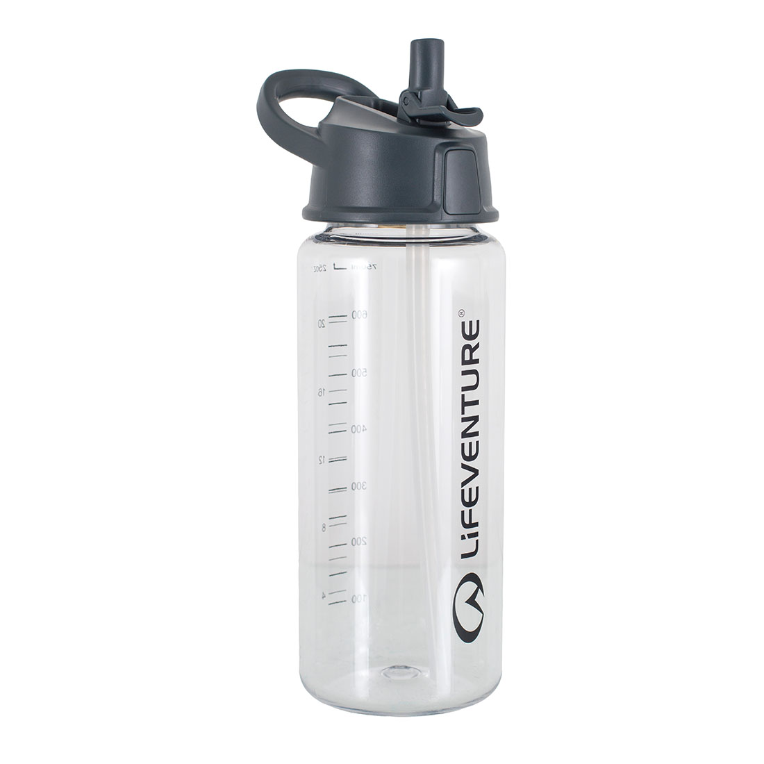 Flip-top Water Bottle (clear)