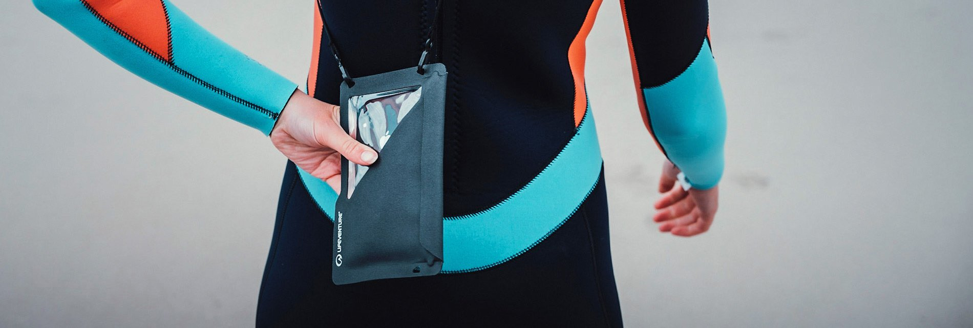 Waterproof Pouches homepage banner