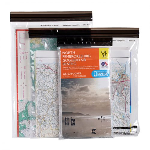 DriStore Waterproof Map Case