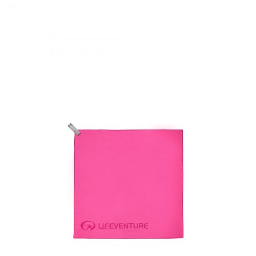 SoftFibre Pink Travel Towel (Pocket)