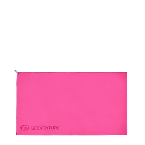 SoftFibre Pink Travel Towel (X Large)