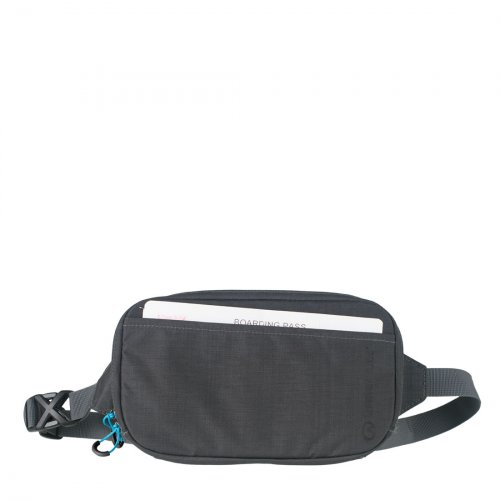 RFiD Travel Belt Pouch (Grey)