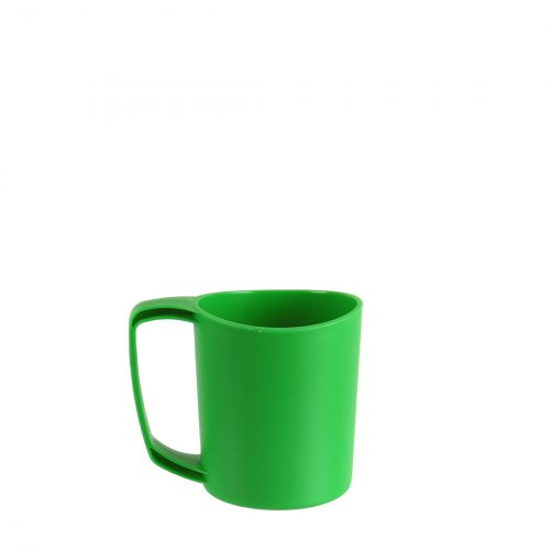 Ellipse Plastic Camping Mugs (Green)