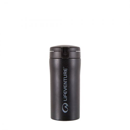 Flip-Top Thermal Mug (Black)