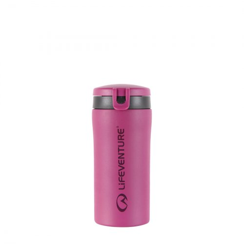 Flip-Top Thermal Mug (Pink)