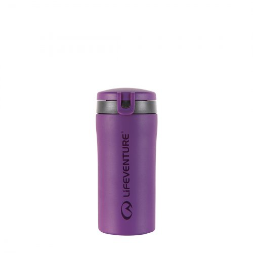 Flip-Top Thermal Mug (Purple)