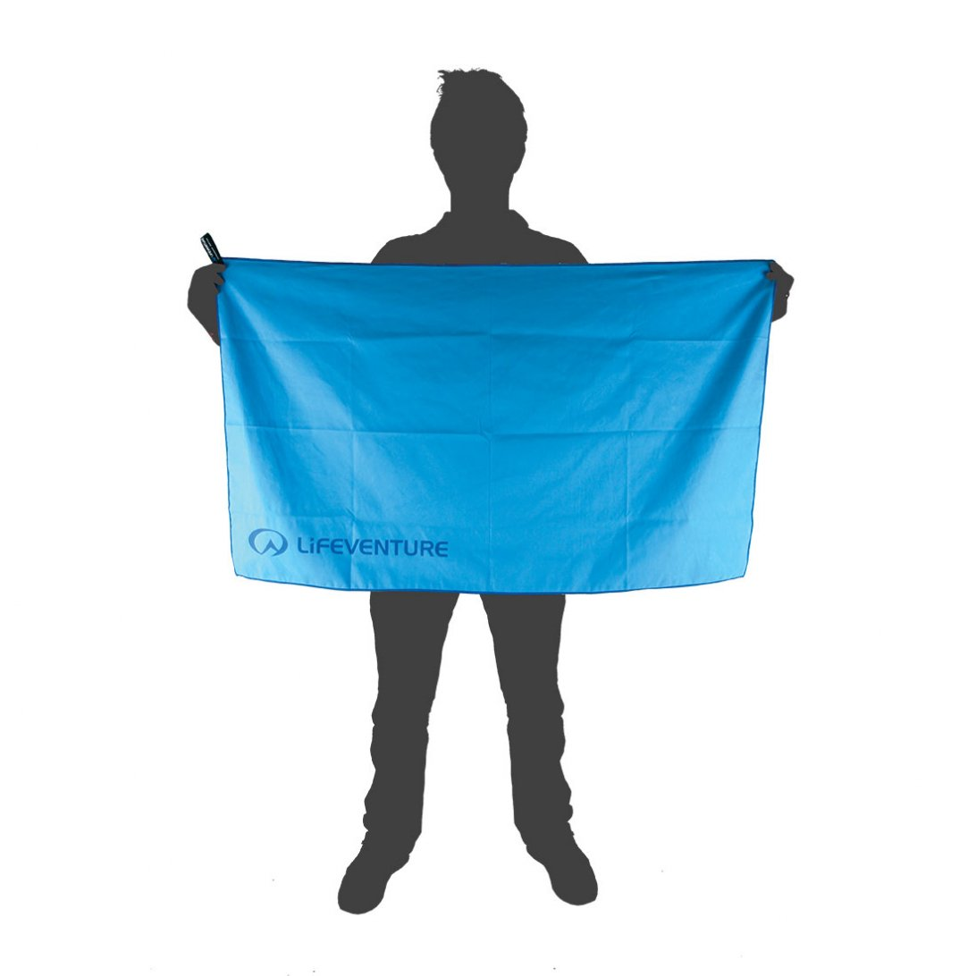 Softfibre Travel Towel Large size reference - Blue