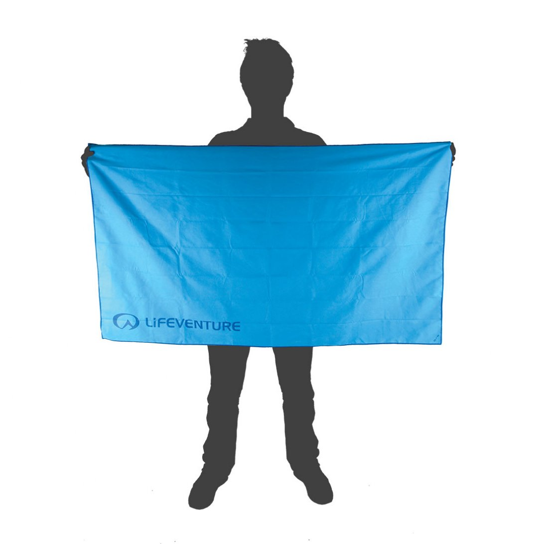 Hydrofibre Travel Towel XLarge size reference - Blue