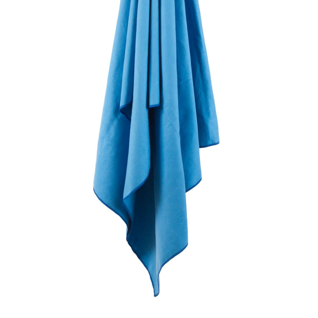 Softfibre Travel Towel hanging - Blue