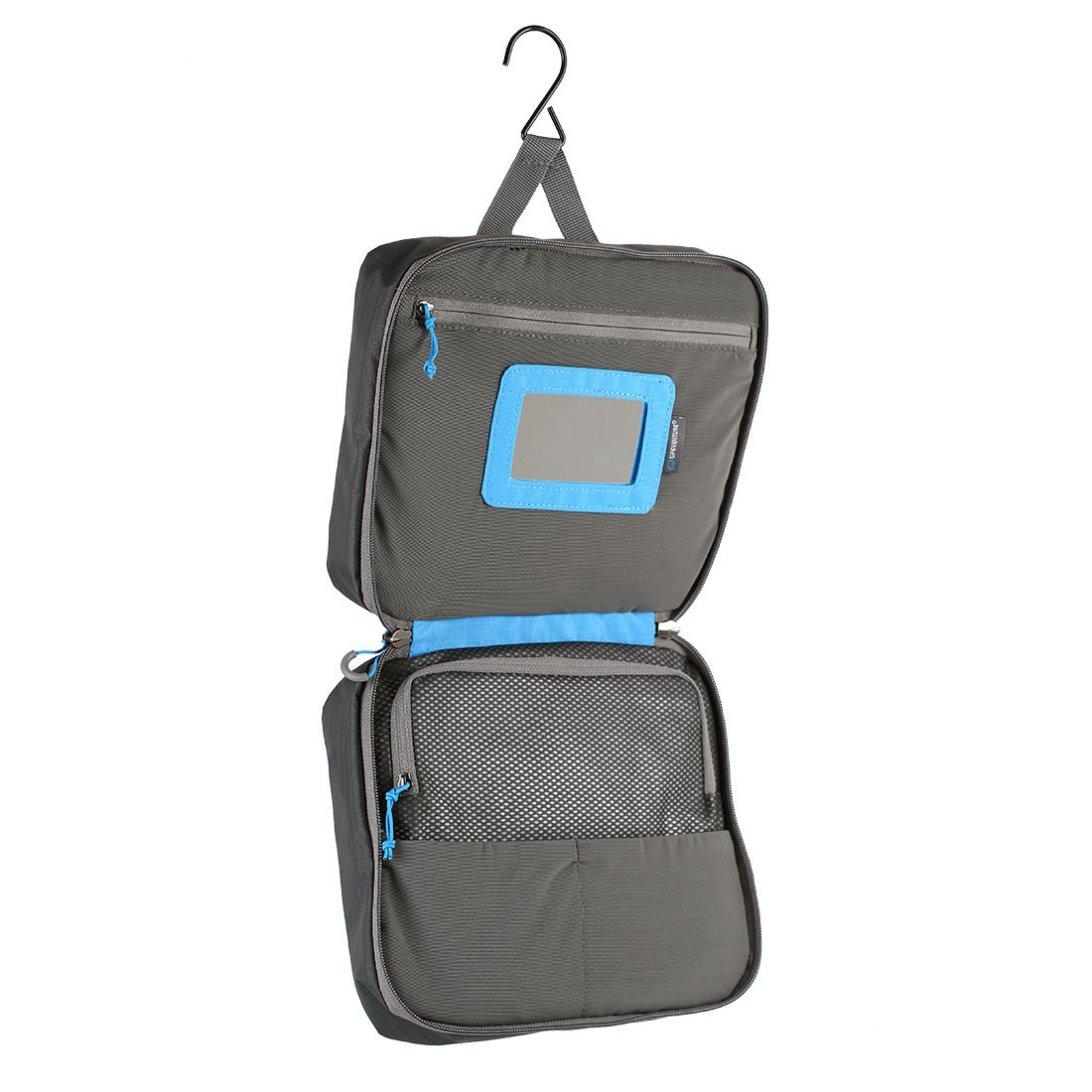 9118f62a8c Travel Wash Bag Large - grey