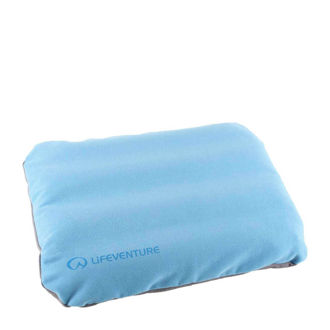 Blue back support cushion