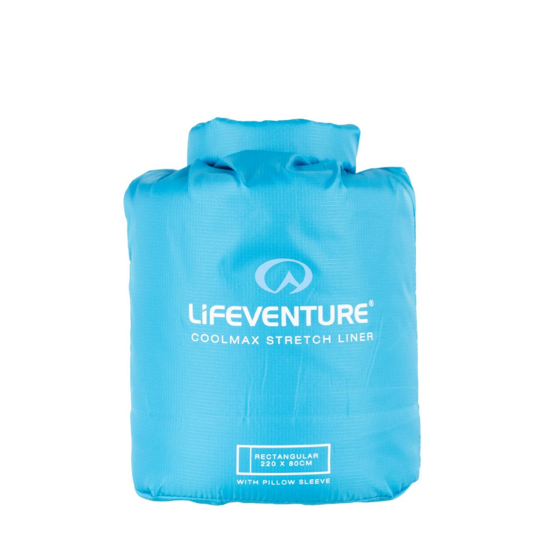 Coolmax sleeping bag liner carry case