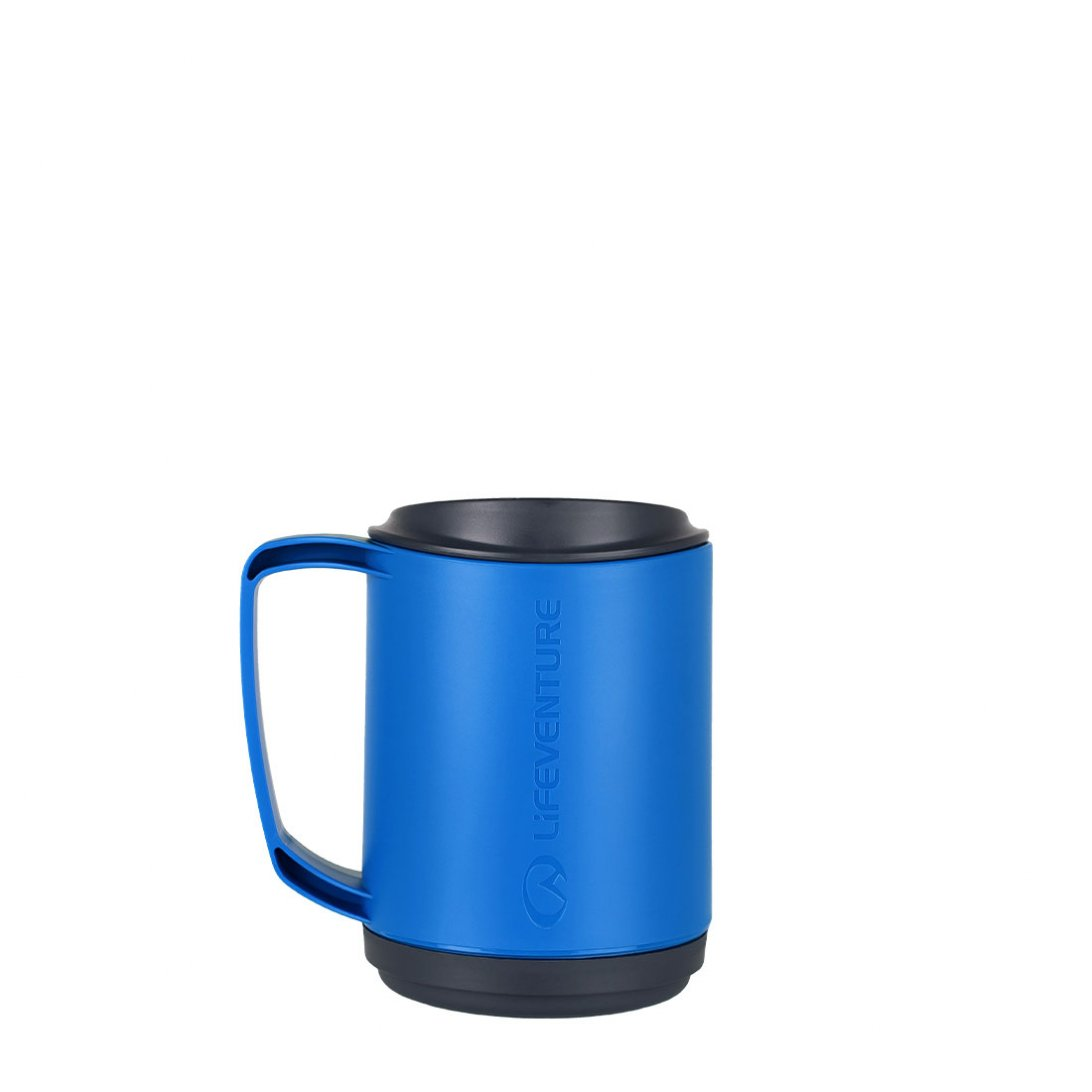 Ellipse Insulated Mug - Blue