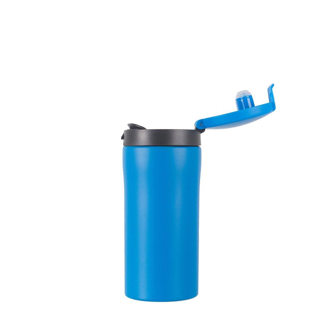 Flip-Top Thermal Mug Lid - Blue