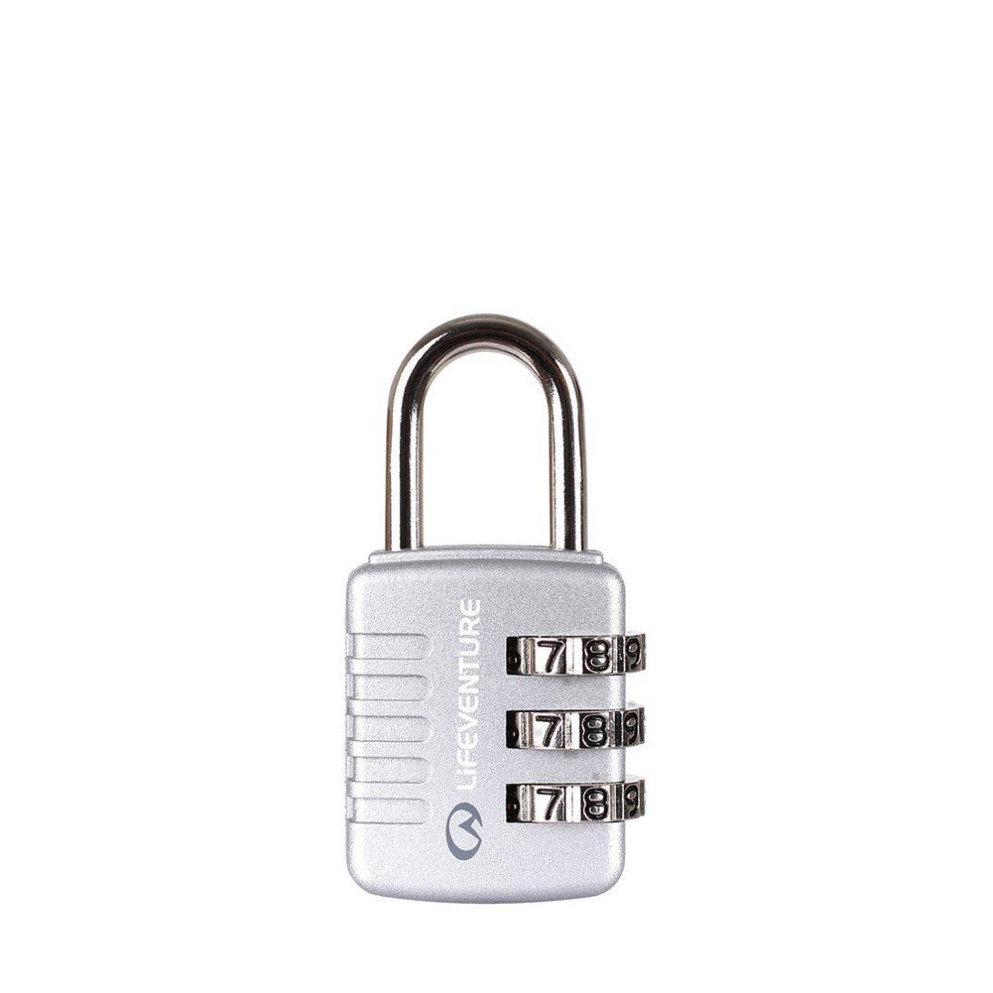Silver combi lock