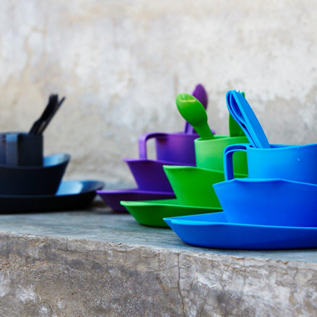 Ellipse plastic camping cookware range