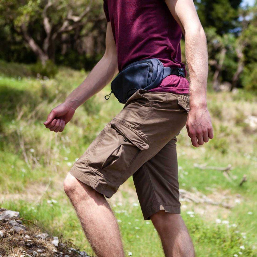 RFiD hip pack 2 around waist