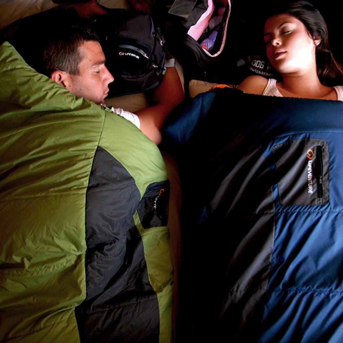 Lightweight sleeping bags