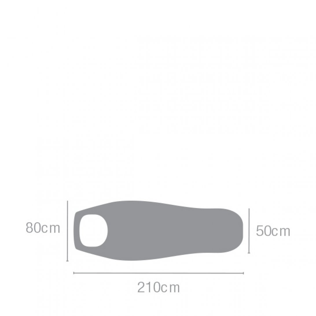 Lightweight sleeping bag dimensions