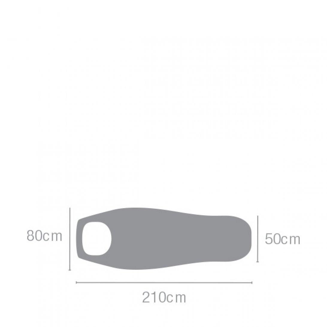 Lightweight sleeping bag dimensions