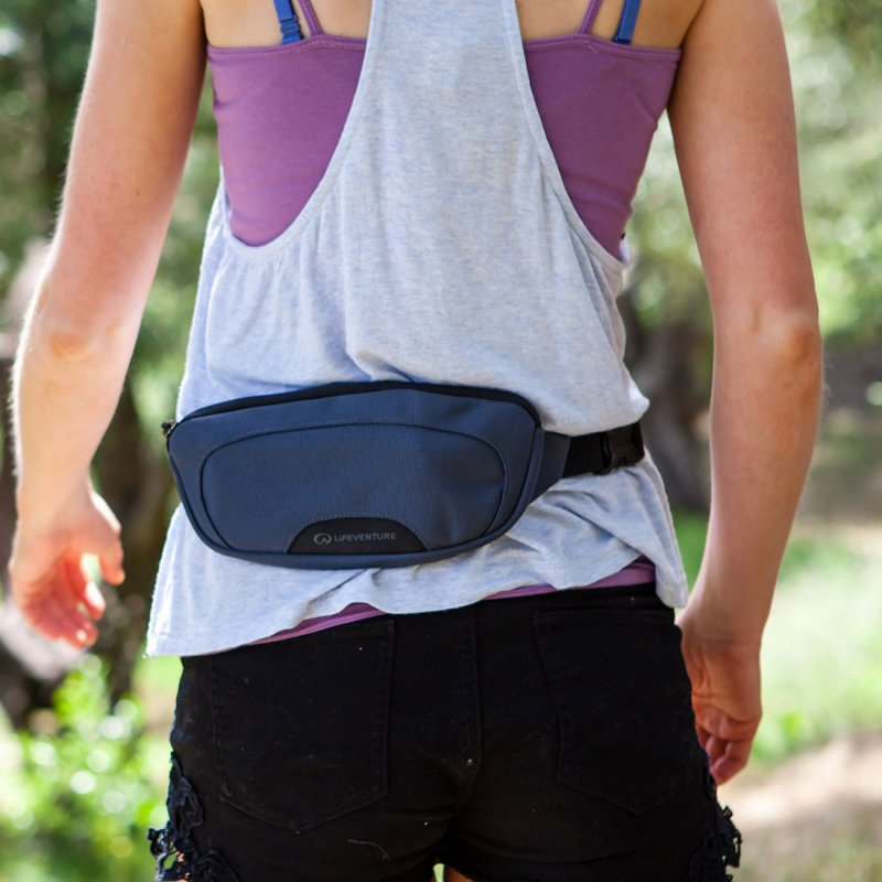 RFiD hip pack 1 around waist