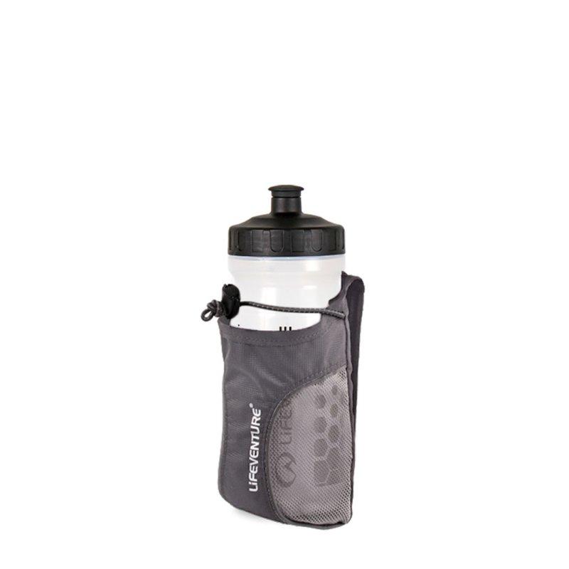 Grey water bottle holder