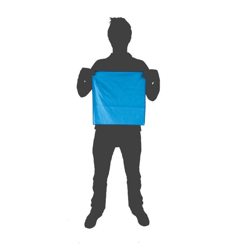 Softfibre Travel Towel Pocket size reference - Blue