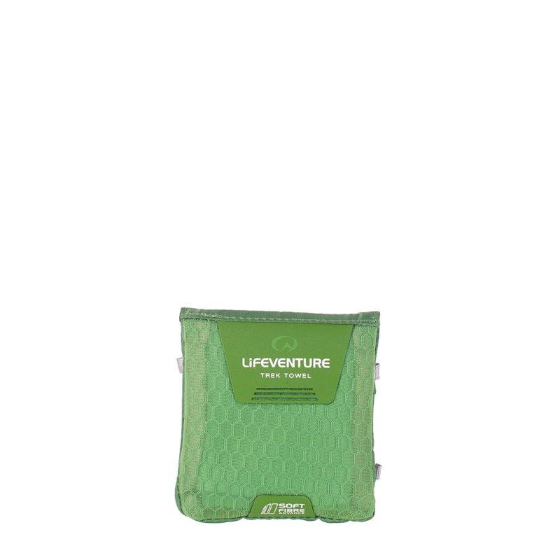softfibre Travel Towel Pocket  carry case - Green