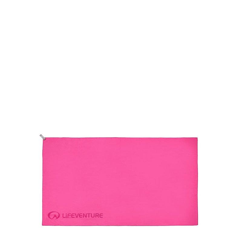 Softfibre Travel Towel Large - Pink