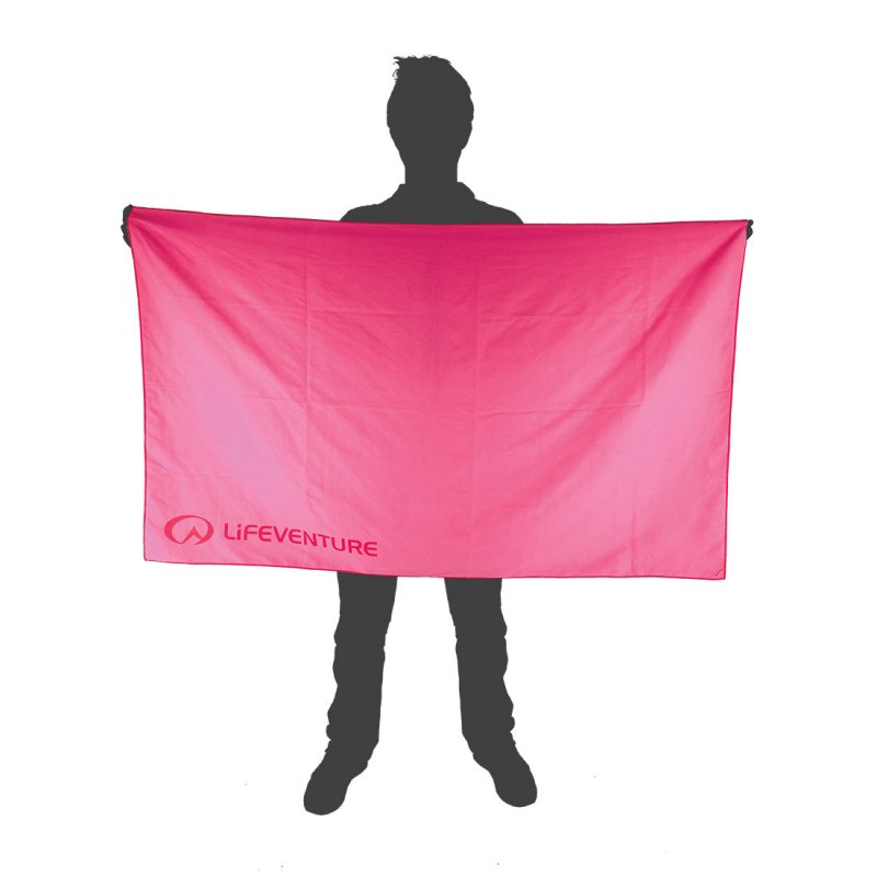Softfibre Travel Towel Giant size reference - Pink