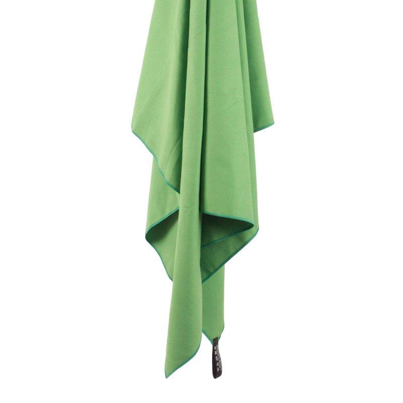 Softfibre Travel Towel hanging - Green