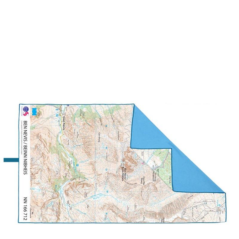 Lifeventure SoftFibre OS Map Towel Giant High Peak