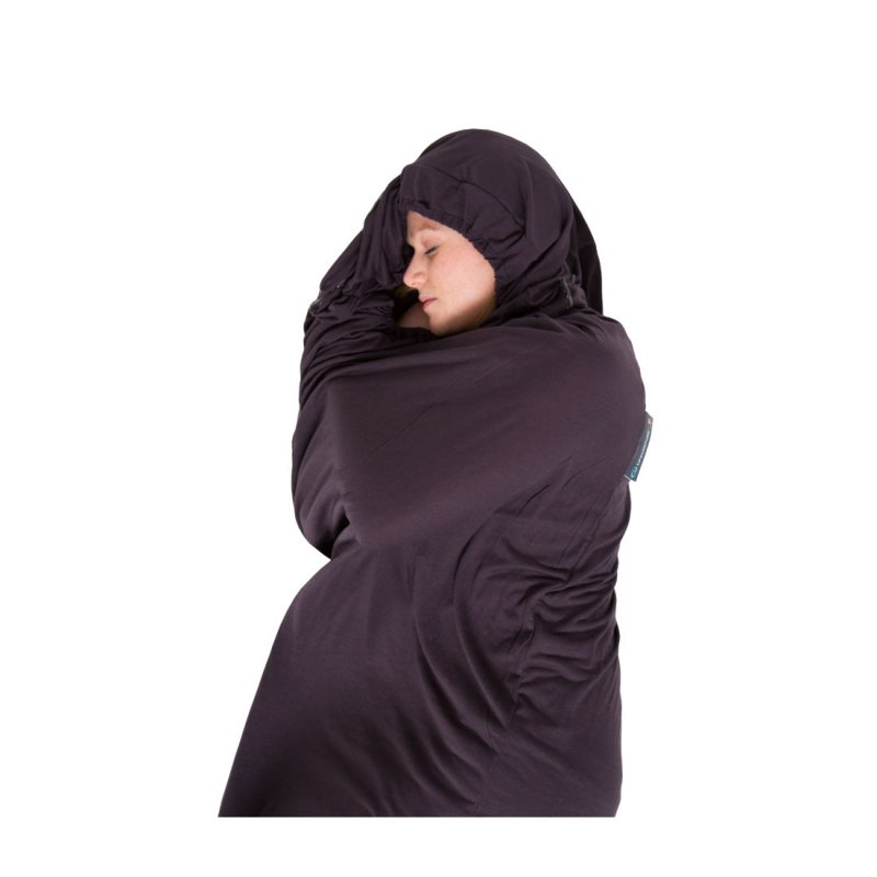 Grey thermolite sleeping bag liner