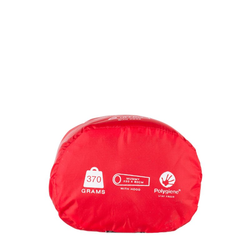 Thermolite sleeping bag liner carry case - mummy