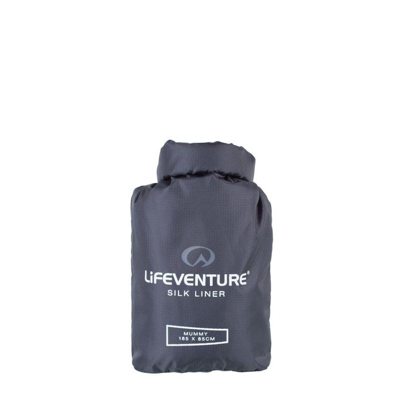 Silk sleeping bag liner carry case