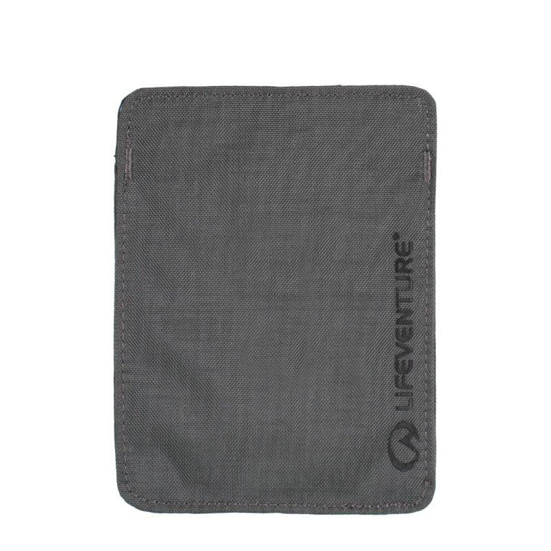 Grey RFiD passport wallet