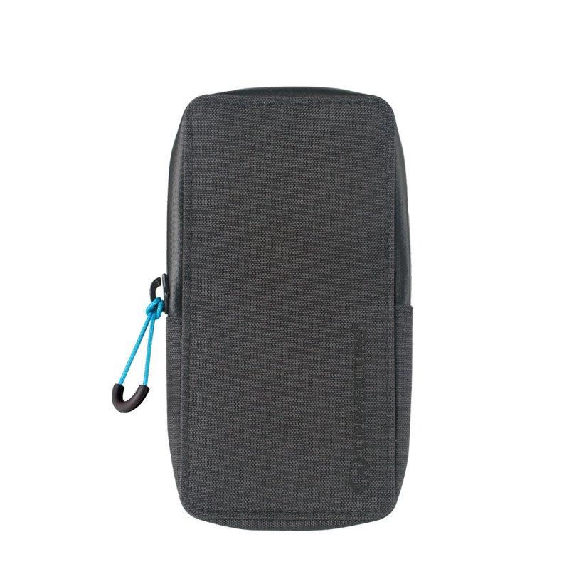 Grey RFiD phone wallet