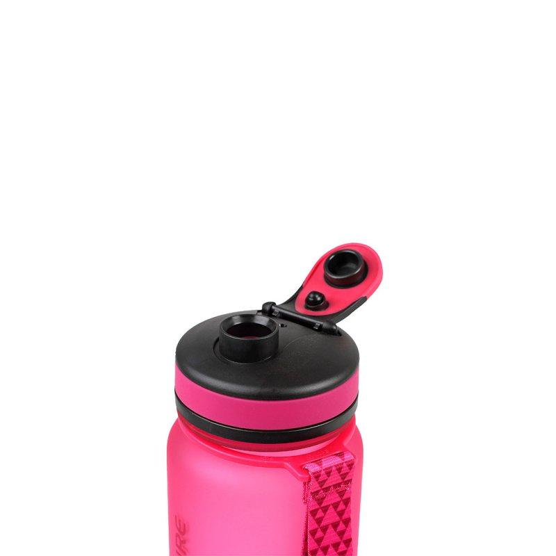 Tritan water bottle lid open - Pink