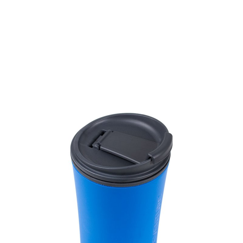 Ellipse Travel Mug closed - Blue