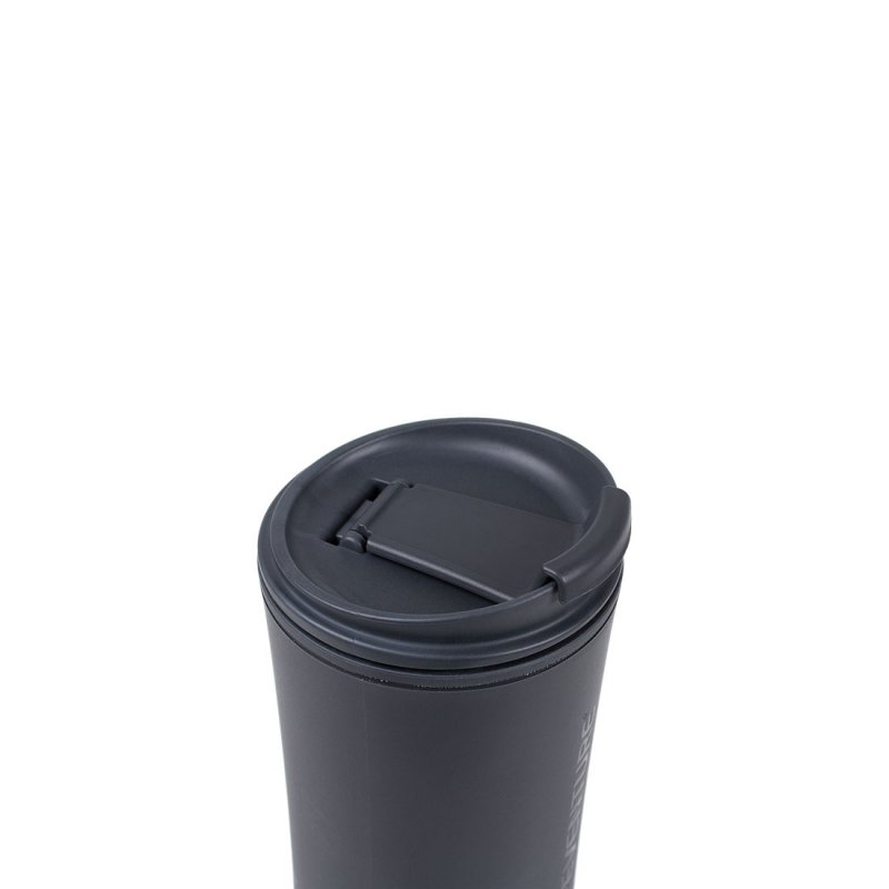 Ellipse Travel Mug closed - Graphite