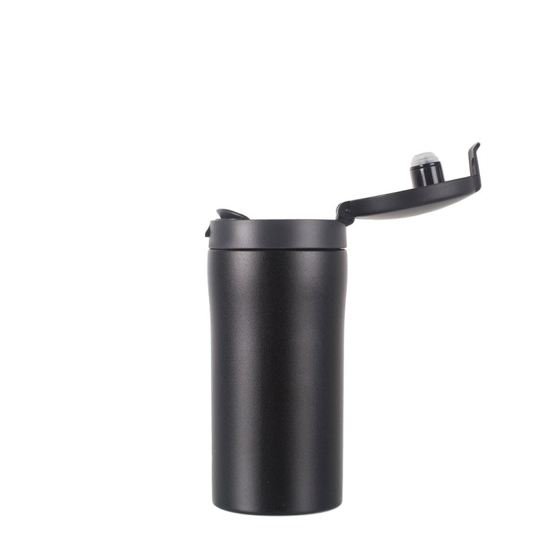 Flip-Top Thermal Mug Lid - Black