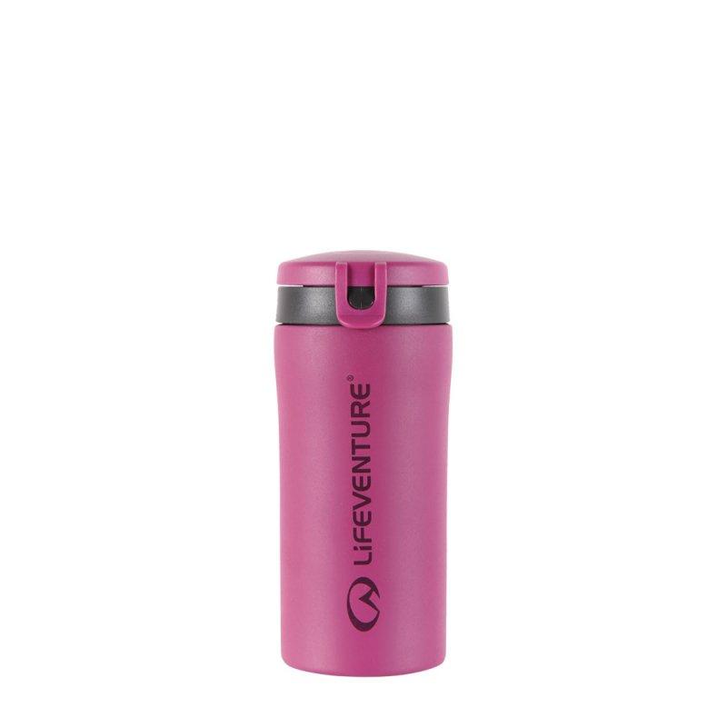 Flip-Top Thermal Mug - Pink