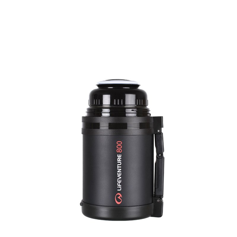 TiV Widemouth Vacuum Flask 800ml cup open