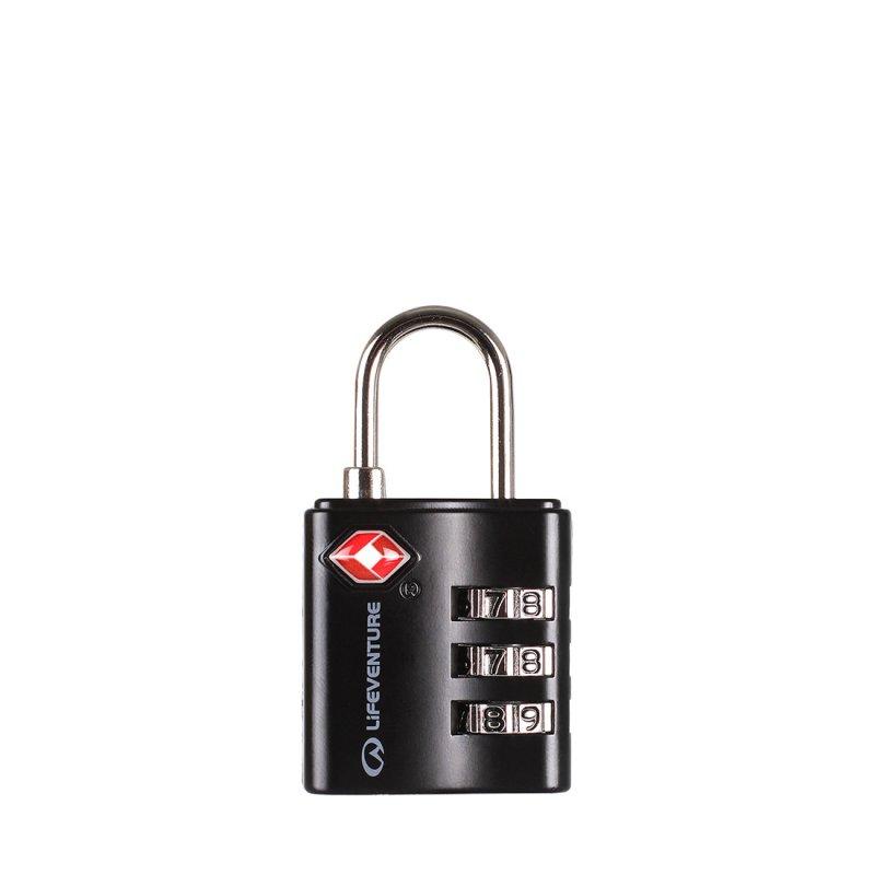 Black TSA combination lock